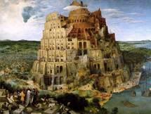 La Torre de Babel, pintura al óleo sobre lienzo de Pieter Brueghel el Viejo. Wikipedia.